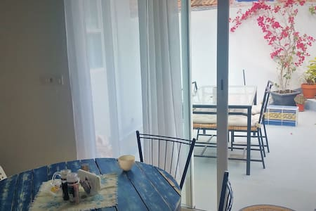 Two bedroom apartment with terrace in Tazacorte