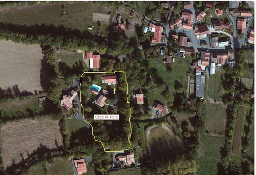 Le Gîtes du Parc dans le hameau de La Richard