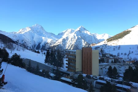 Les 2 Alpes - Beau studio au pied des pistes - Mont-de-Lans