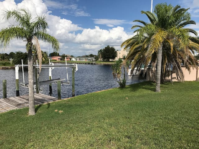 Quiet Port Charlotte Home with Waterfront View