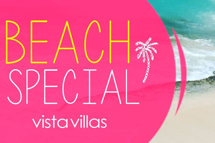 VILLAS ON THE BEACH. 10 apartments!!