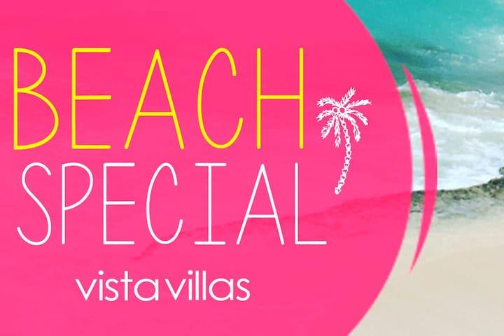 VILLAS ON THE BEACH. 10 apartments!!