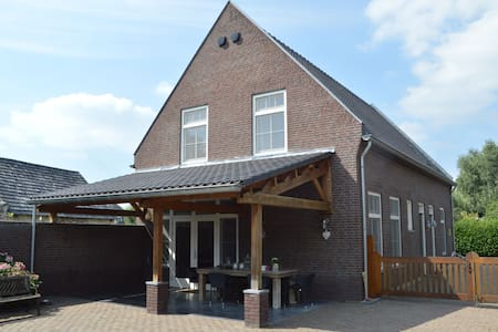 Spacious and luxurious apartment in Central Limburg, Posterholt with a terrace!