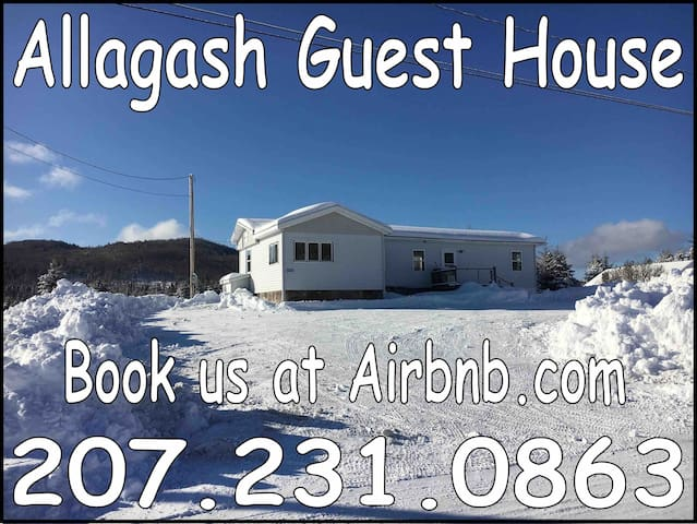Braap in the Gash! Book now! Allagash Guest House