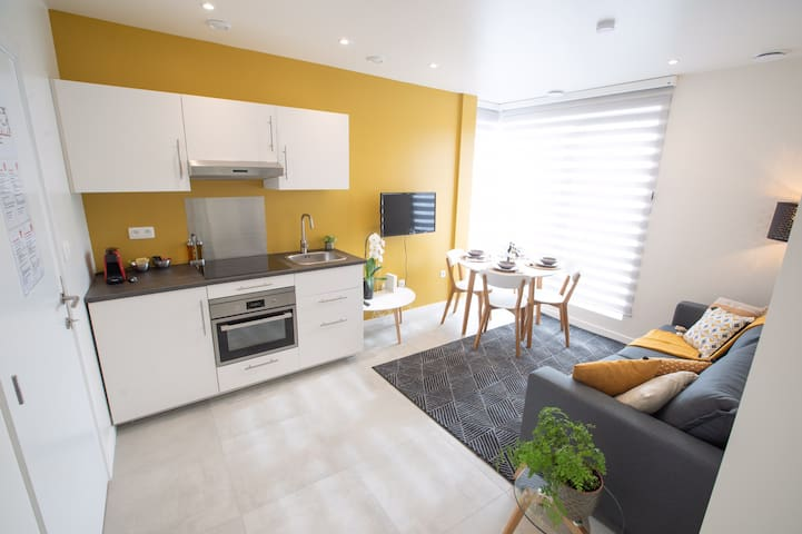 New apartment close to Brussels Airport (South)
