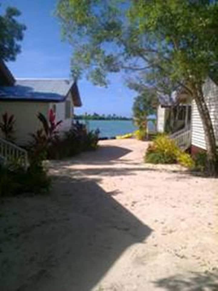 Afakasi Fale at Sunshine Coast, Savaii Island.