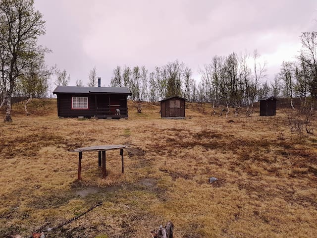 The cabin from the 1950s