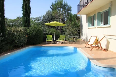 Town Centre Villa - Pool & Parking - Céret