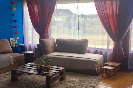 Habitación para 2Pax frente a humedal de putemun - Castro