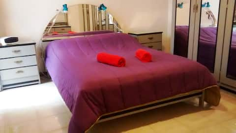 Spacious double room La Laguna