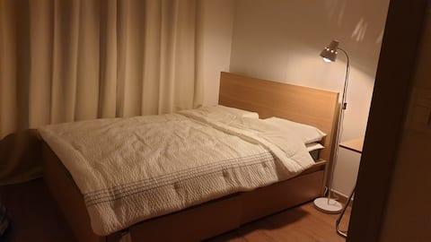 #출장환영#퀸침대#세종시 청사 5분, 오송역 10분,  평화로운 숙소 (퀸 침대)
