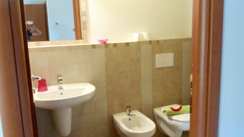 A private bathroom