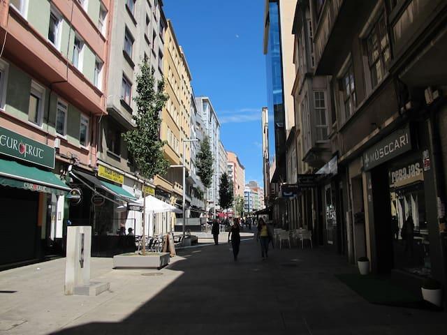 Cheerful street - Cosy appartment - A Coruña - Apartamento