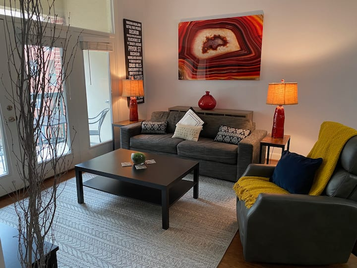 Midtown Luxury Condo w/ Pool and Hot Tub!