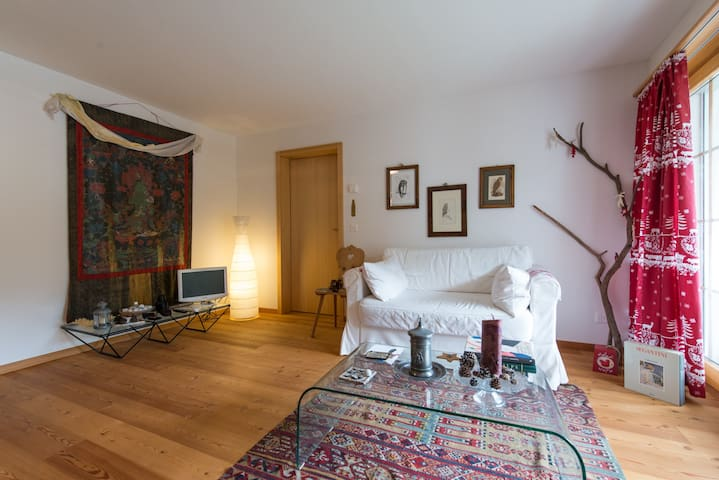 Charming apt near Engadin Golf