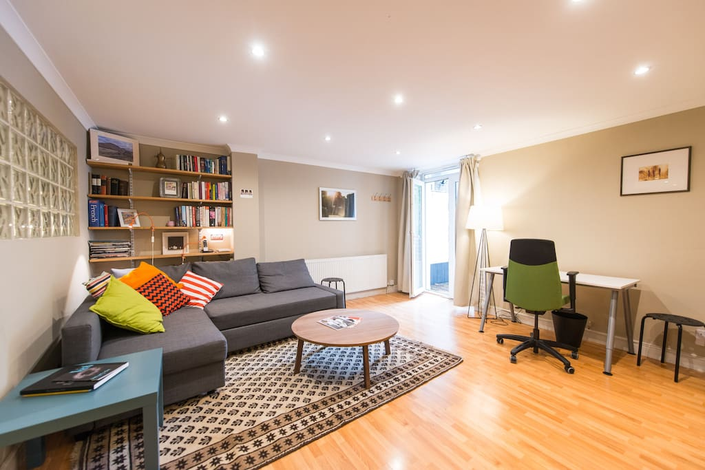 Living room - sofa bed sleeps two comfortably