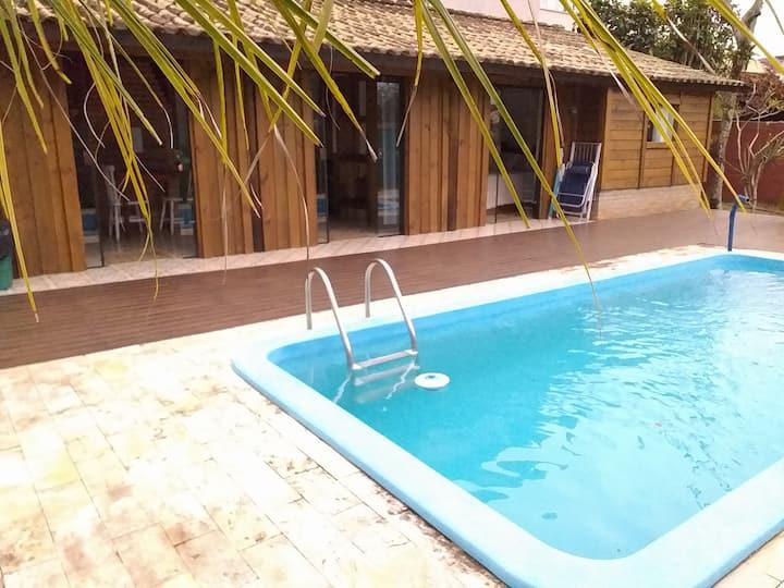 Loft com piscina exclusiva