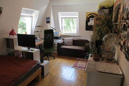 Nice room in student flat - Heidelberg - Leilighet