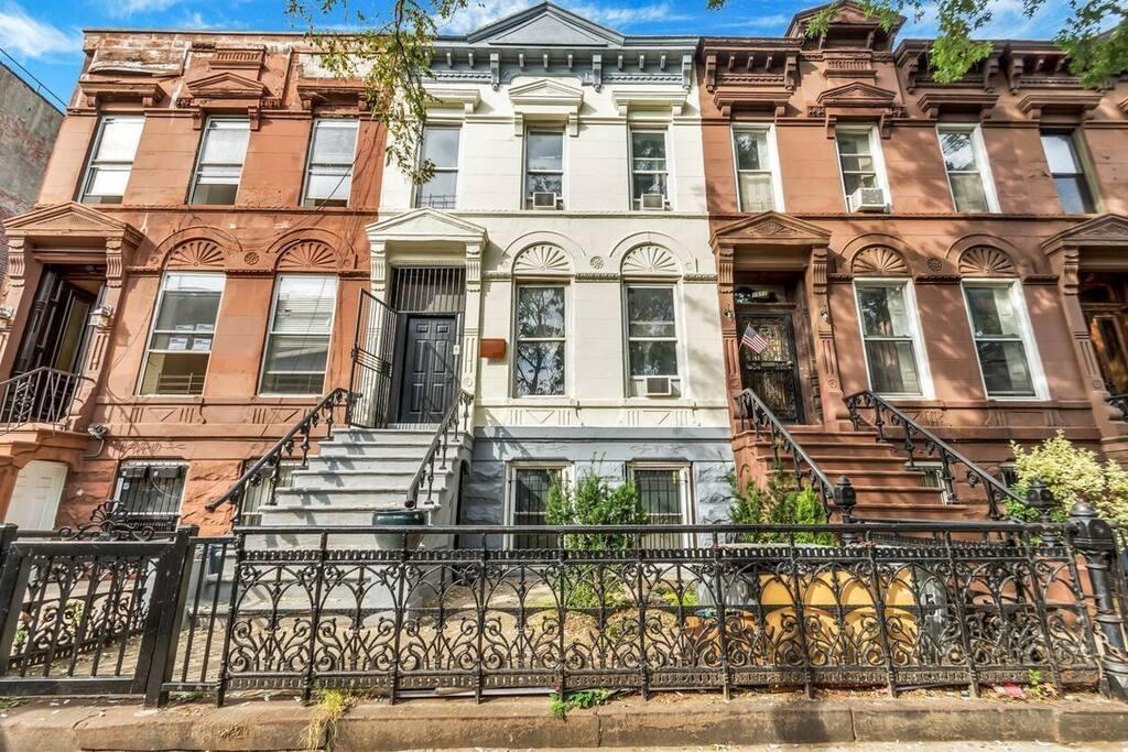 Tastefully Restored Historic Landmark Brownstone in Brooklyn