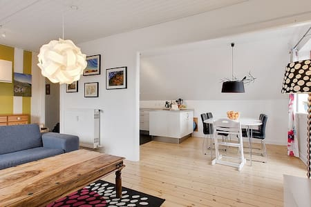 Large 2 bedroom apartment close to the city - Copenhague - Appartement