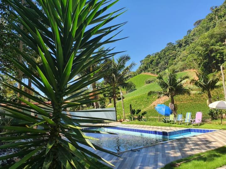 Sítio Pedra Morena, local de tranquilidade e lazer