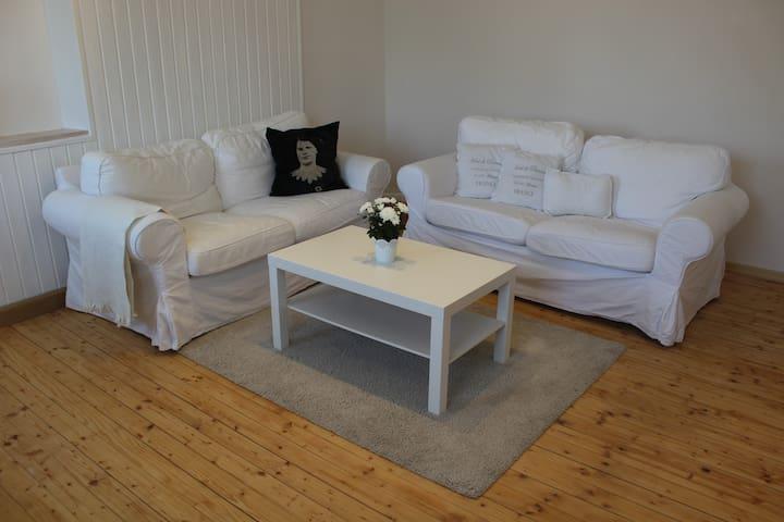 Wunderschöne und stilvolle 65qm Wohnung mit Balkon - Hebertshausen - Apartment