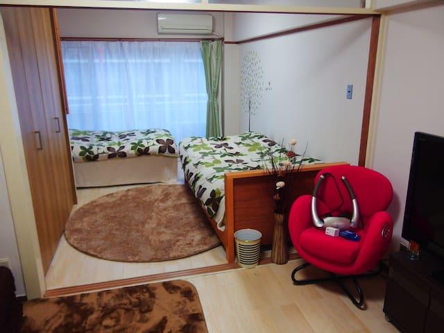 NEW Yokohama  3 mins from station! freeWIFI!中文可 - Naka-ku, Yokohama-shi - Apartment