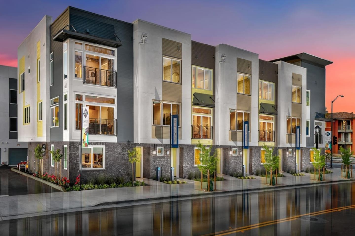 Cover photo of beautiful newly established SP78 Townhomes