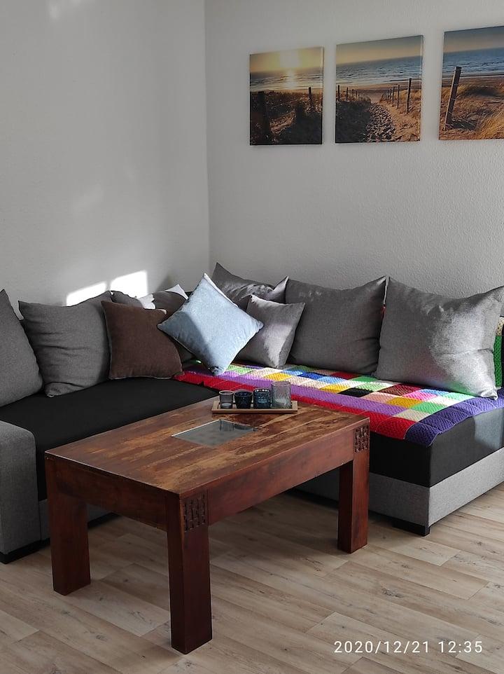 Renovierte 70 m2 Wohnung in Ronneburg mit Balkon