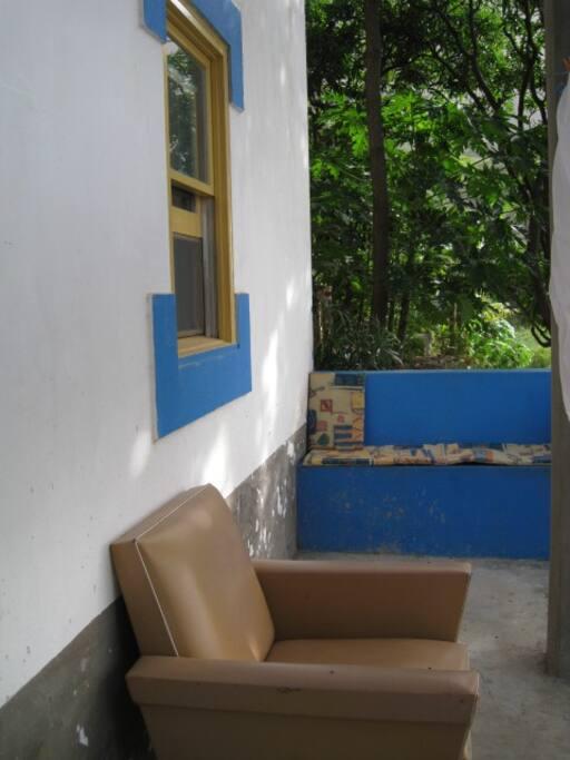 Private veranda Kaza Baixo