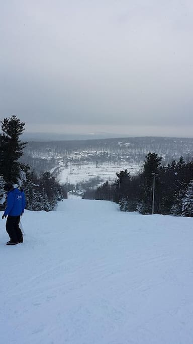 Only 1/4 mile from the ski slopes!