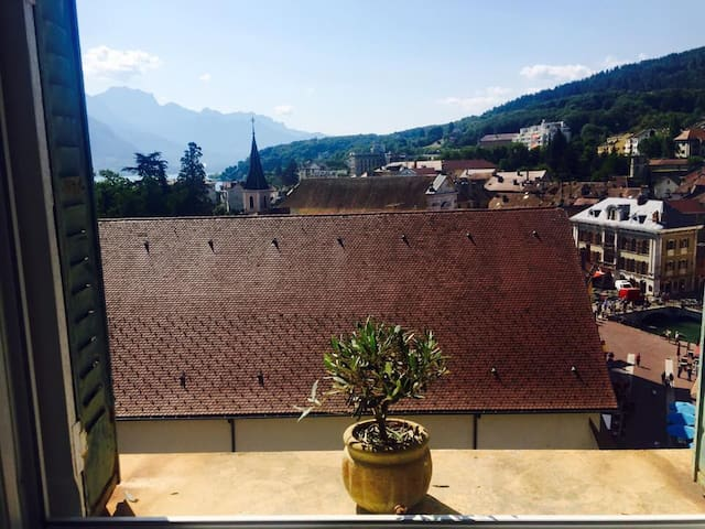 lovely and cosy penthouse - Annecy - Appartement