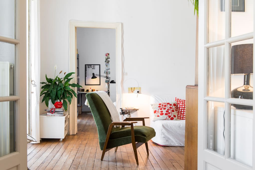 charmant t2 au c ur de la ville appartements louer nantes pays de la loire france. Black Bedroom Furniture Sets. Home Design Ideas