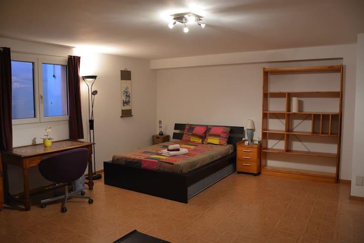 Chambre privée proche de l'aéroport - Vernier - Huis