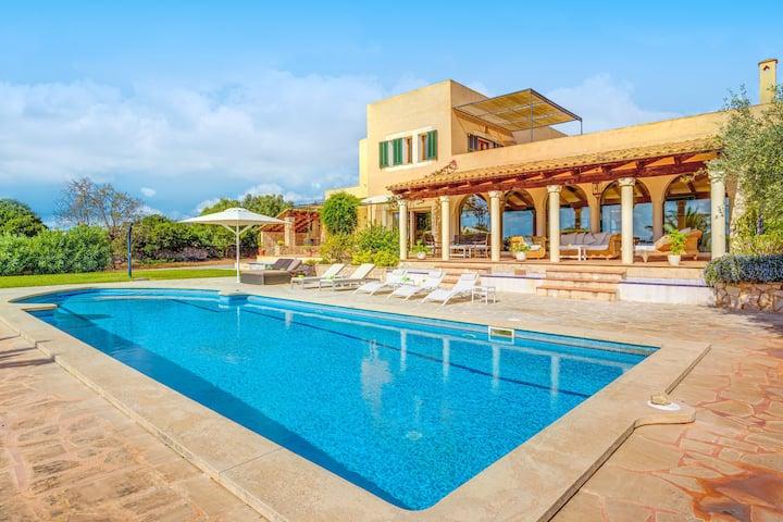 Villa Korema with Mountain View, Sea View, Wi-Fi, Garden, Terraces & Pool; Parking Available