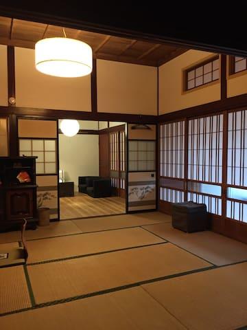 TRADITIONAL HOUSE AND THE BEACH - Shichigahama - Ryokan (Japon)