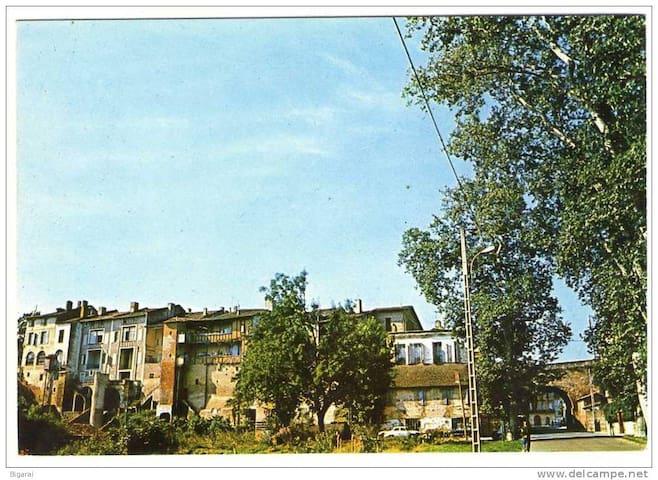 Gîte des remparts - Verdun-sur-Garonne - Apartamento