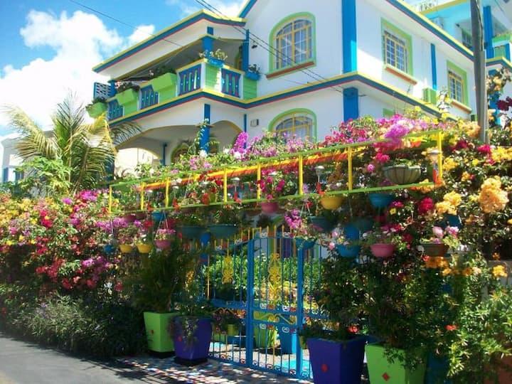 Appartement 70 m2 proche de la plage Pereybere.