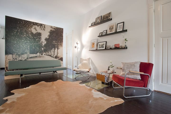 BEAUTIFUL cozy apt. with porch and garden! - Amsterdam - Apartment