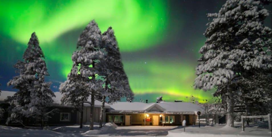 Private room in Arctic Aurora Apartment, 2p, S