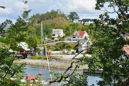 Besøk Bømlo 50 meter til sjø. - Bømlo Svortland - Huis