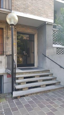 Entrance to condominium...