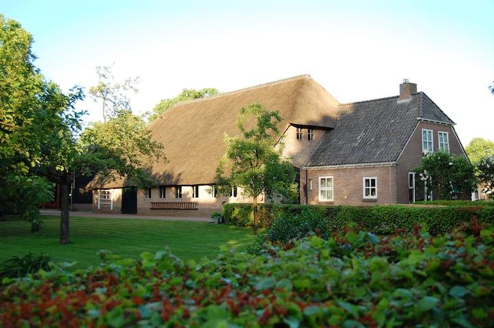 B&B Slaoperij in dorp Orvelte centraal in Drenthe