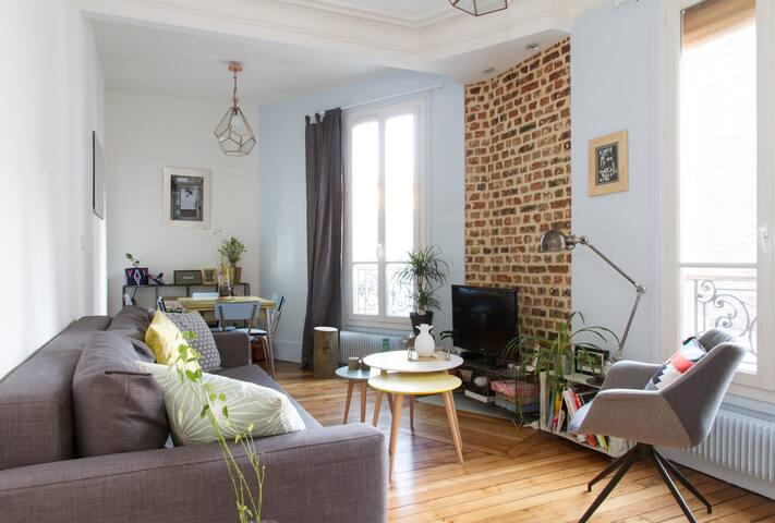 Petit cocon parisien (T2) - Paris - Apartamento