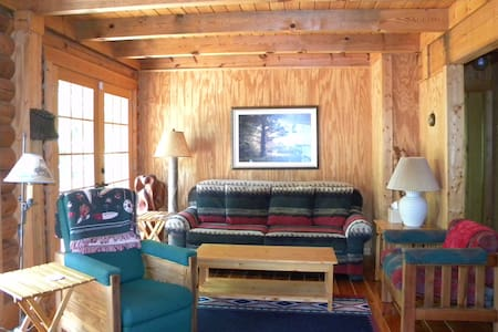 Kerr Lake Log Cabin on calm cove - Cabin