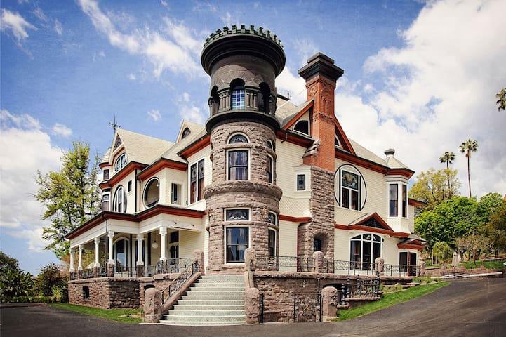 Spectacular 8 BR Victorian Mansion - Piru