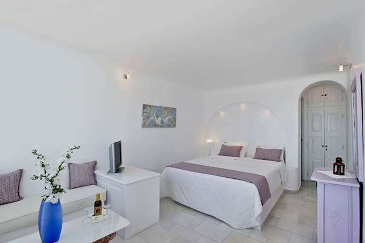 Double Room A - Imerovigli - Appartement