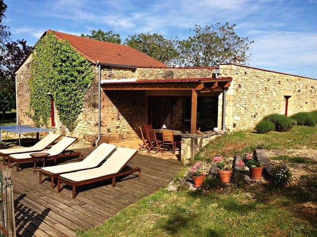 Maison de caractère au coeur du Périgord Noir - Saint-Cernin-de-l'Herm - Casa de férias