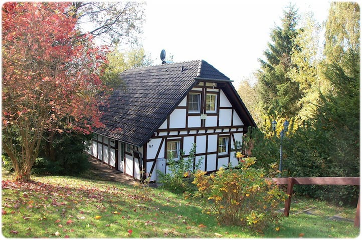 Kleine Ferienvilla in Frankenau für 6  Personen