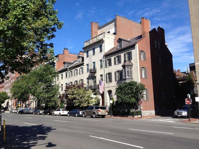 Stunning Beacon Hill Boston Townhouse Apartment